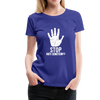Stop Anti Semitism Women's Premium T-Shirt - royal blue