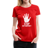 Stop Anti Semitism Women's Premium T-Shirt - red