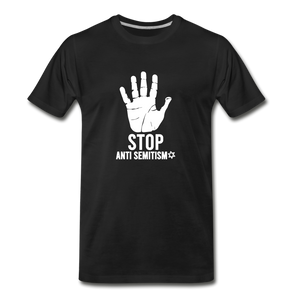 Stop Anti Semitism Men's Premium T-Shirt - black