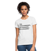 I'M SPEAKING Women's T-Shirt - white