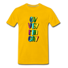 Oy Vey I'm Gay Men's Premium T-Shirt - sun yellow