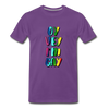 Oy Vey I'm Gay Men's Premium T-Shirt - purple