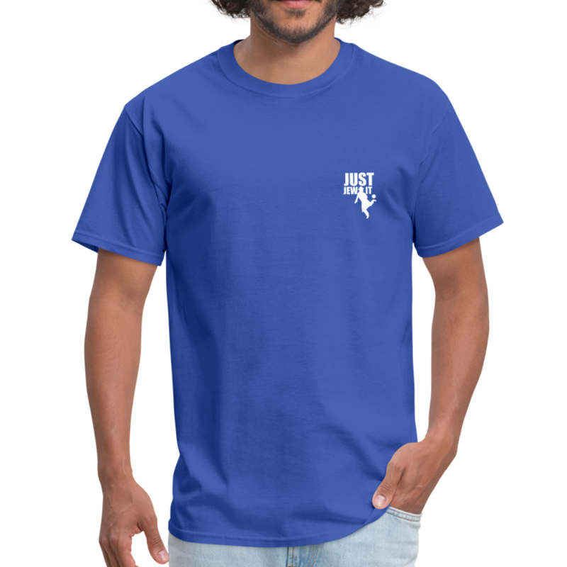 Just Jew It Men's T-Shirt - royal blue