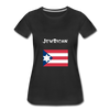 JewRican Women's Premium T-Shirt - black