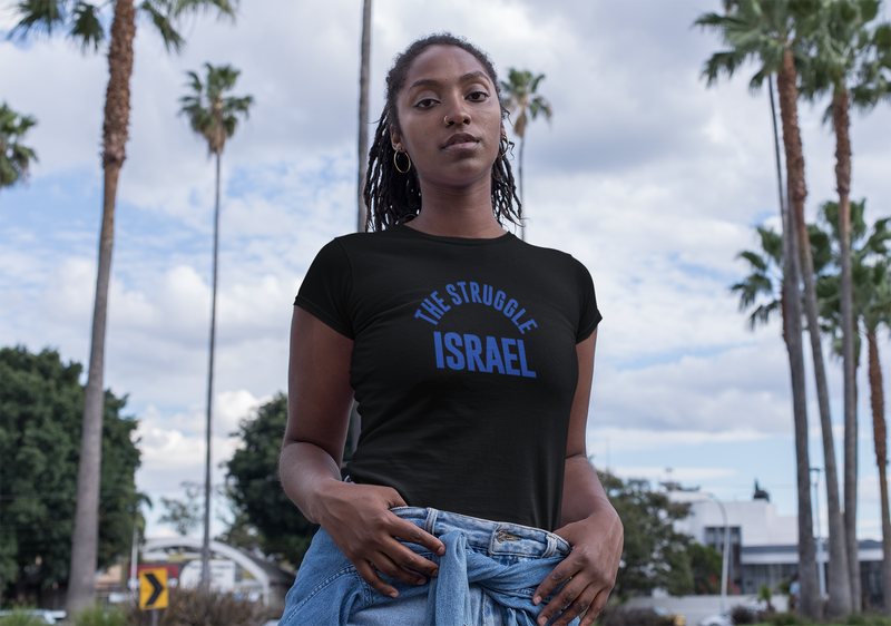 The Struggle Israel Women's Premium Organic T-Shirt
