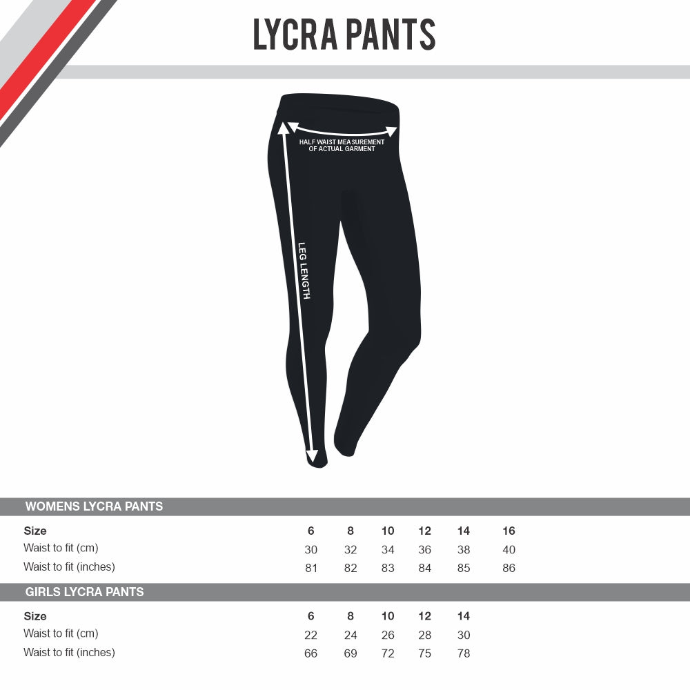 USA Redtails Women's Rugby League - Lycra Pant