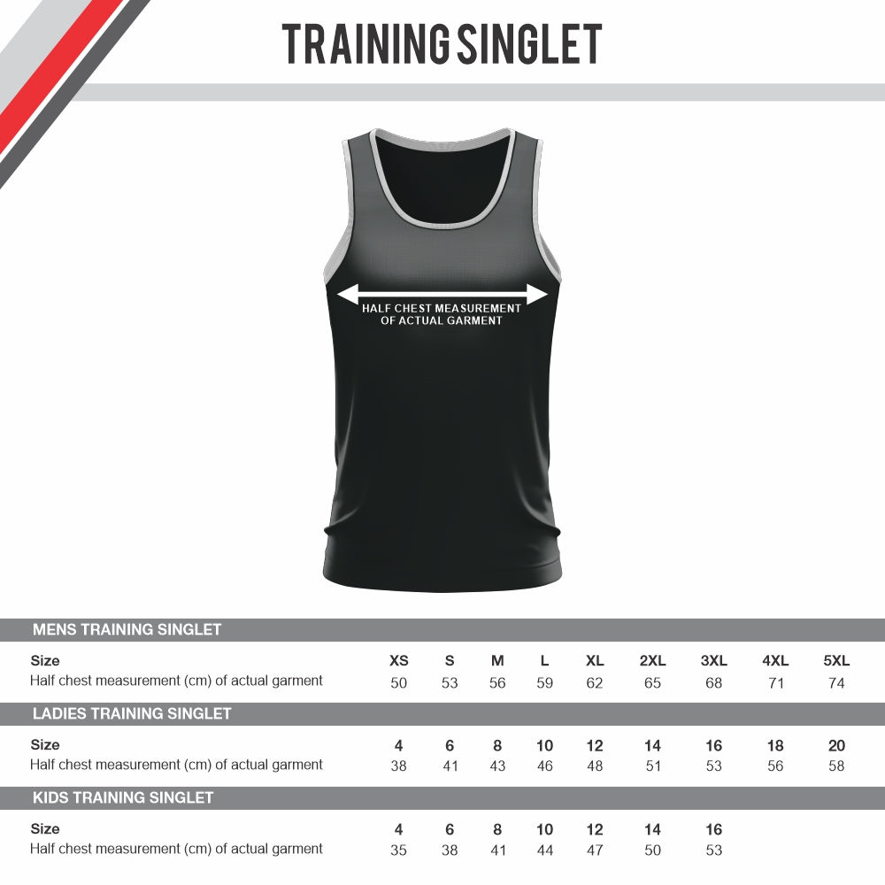 Boston Thirteens Rugby League - Training Singlet