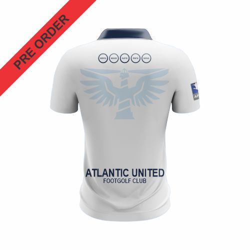 Atlantic United Footgolf - Club Polo (WHITE)