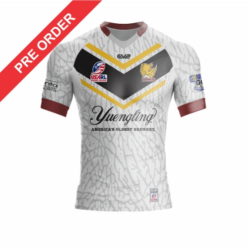 Atlanta Rhinos Rugby League - Supporter Jersey - White