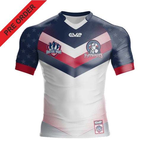 Patriots USA Masters Rugby League - Training Singlet