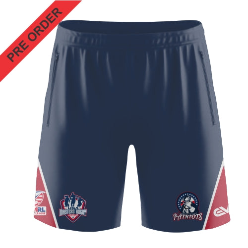 Patriots USA Masters Rugby League - Tri Panel Short