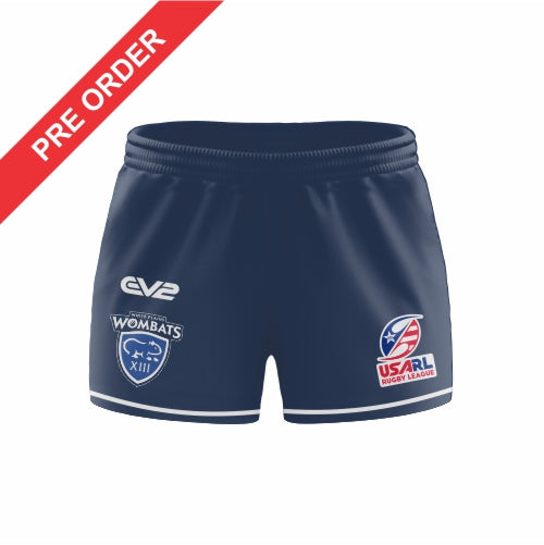 White Plains Wombats Rugby League Clubzone - Rugby League Short