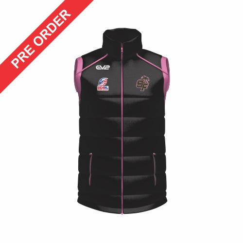Tampa Mayhem Rugby League - Puffer Vest
