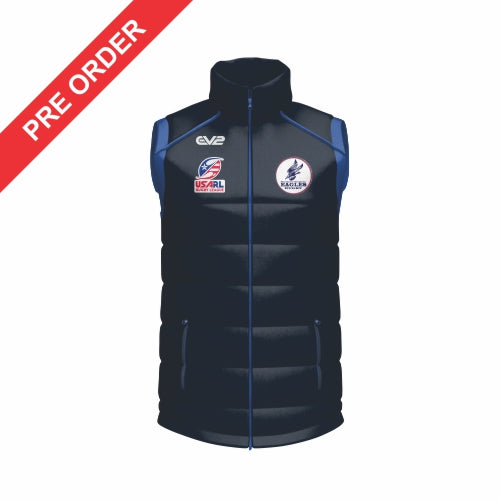 Nova Eagles Rugby League - Puffer Vest