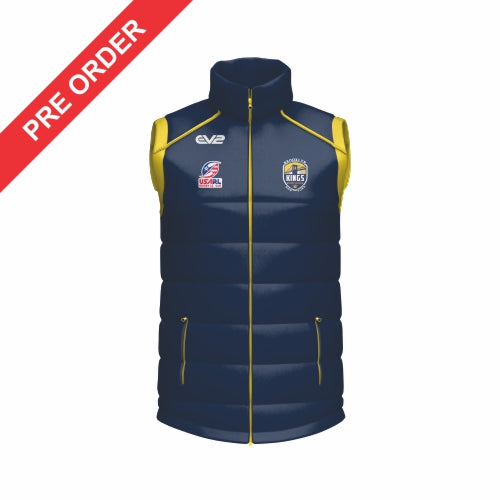 Brooklyn Kings Rugby League - Puffer Vest