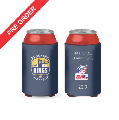 Brooklyn Kings Rugby League - Stubby Cooler