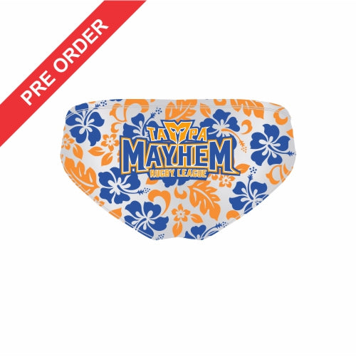 Tampa Mayhem Rugby League - Sublimated Briefs