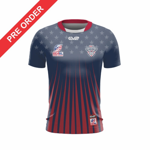 USA Hawks Rugby League - Training Shirt