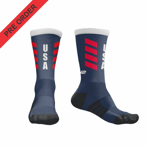 USA Womens Rugby League - EV2 Pro Sock