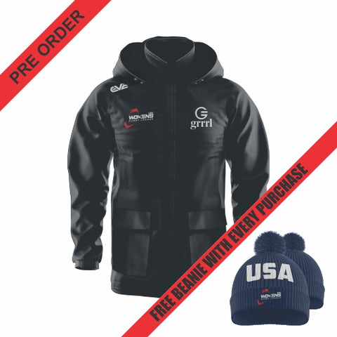 USA Womens Rugby League - Elite Hoodie