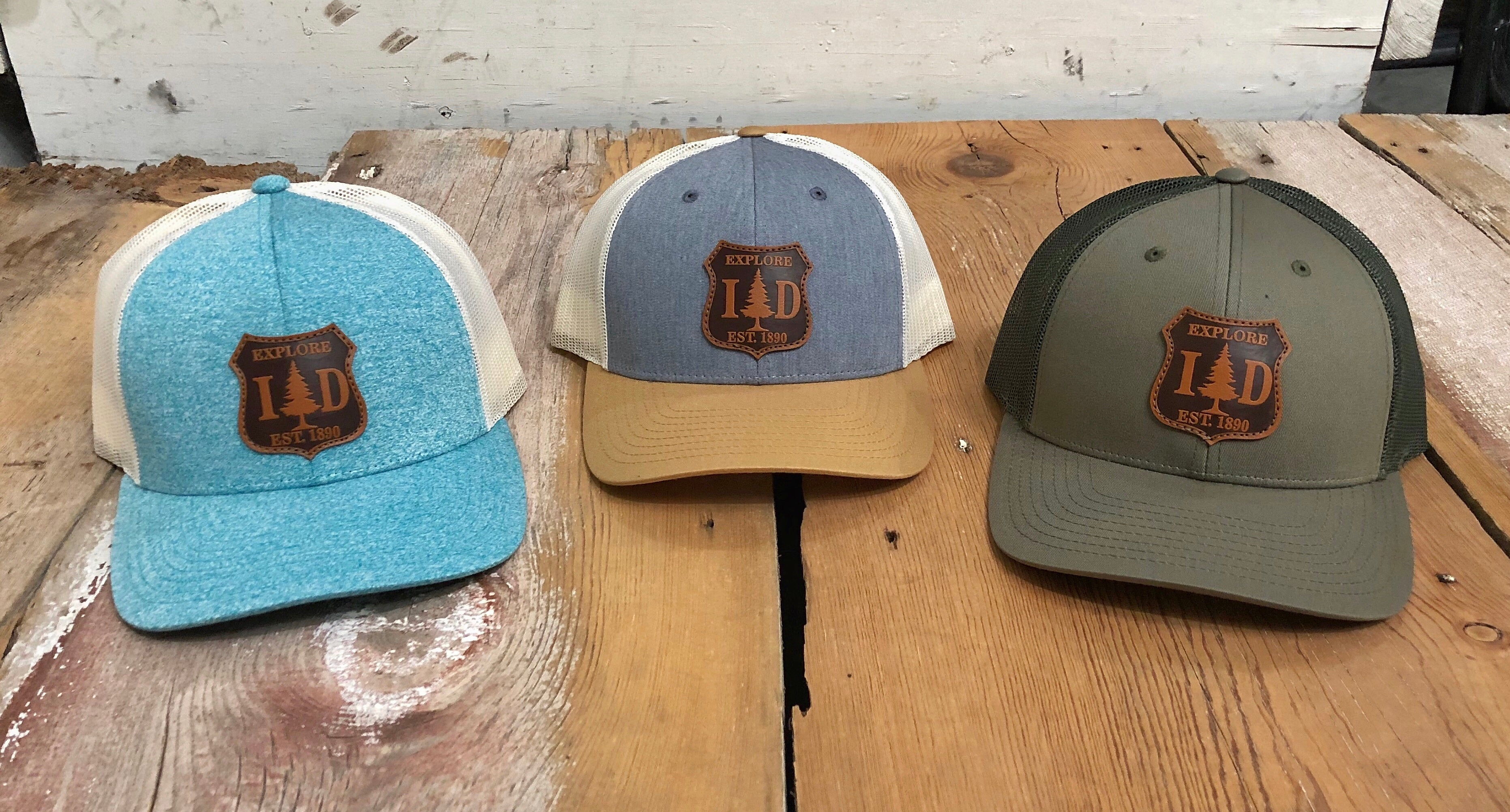 EXPLORE ID PATCH SNAPBACK HAT