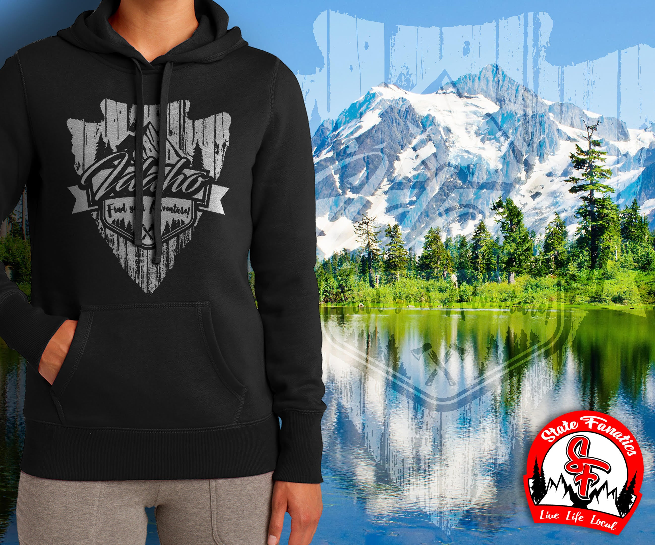FIND YOUR ADVENTURE HOODIE