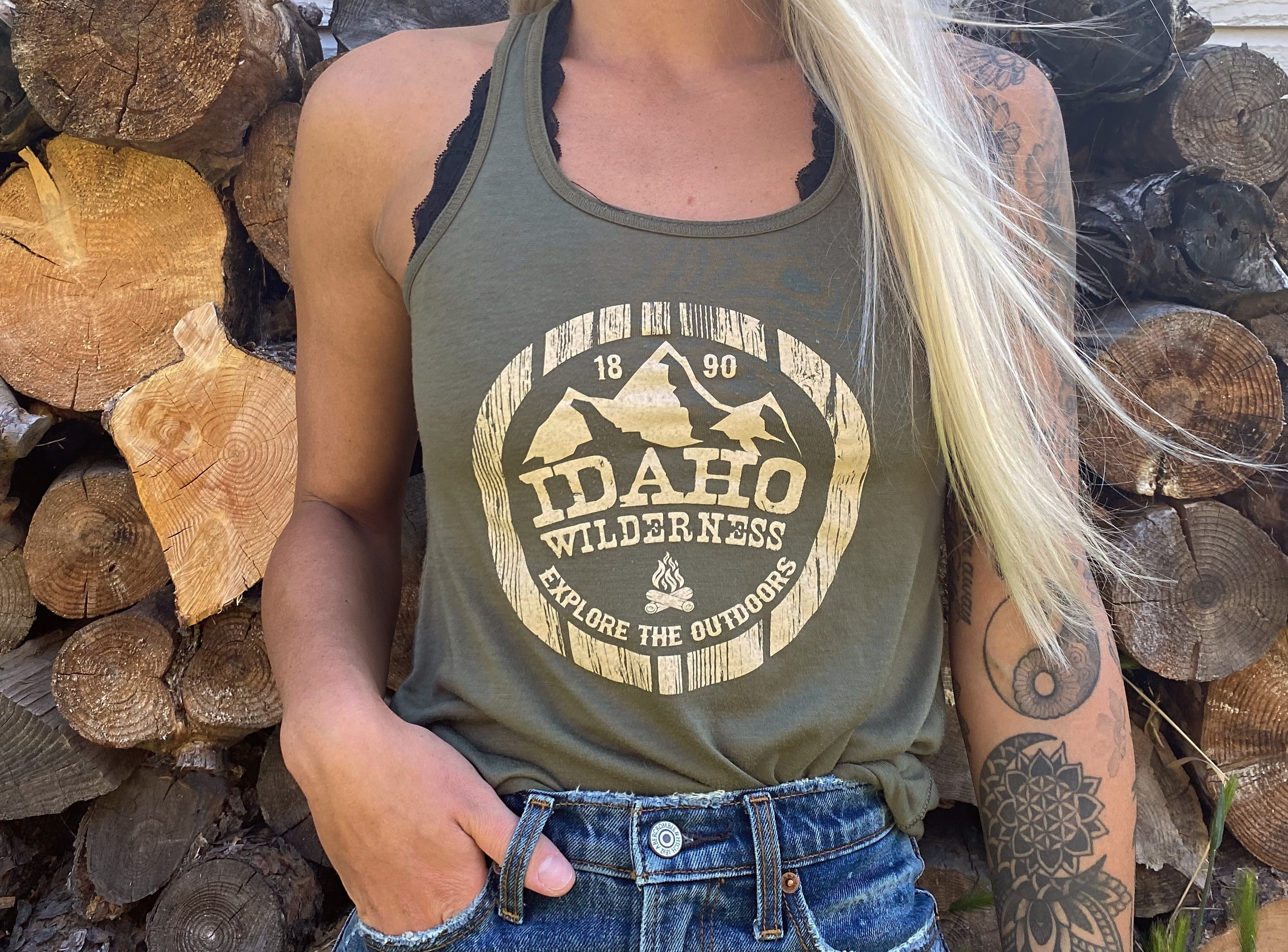 WILDERNESS TANK TOP