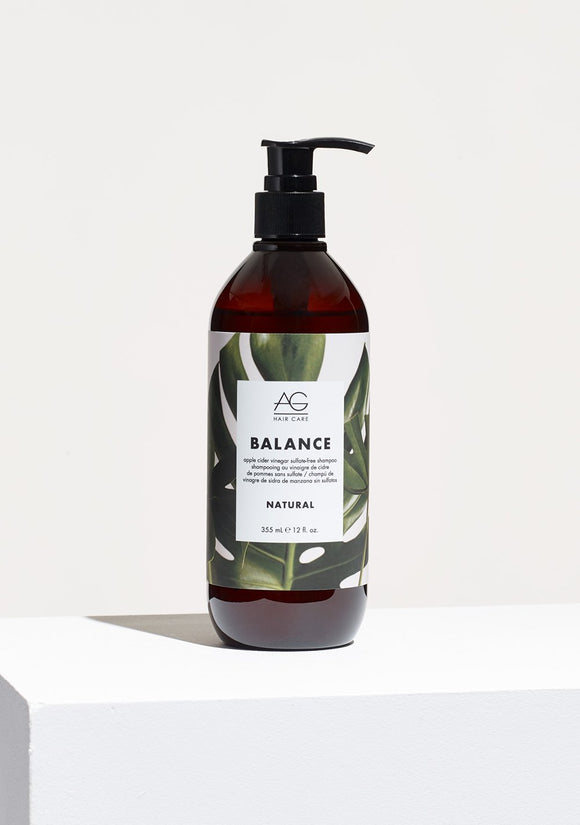 AG HAIR BALANCE APPLE CIDER VINEGAR SULFATE-FREE SHAMPOO