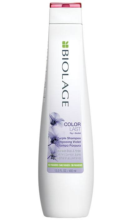 BIOLAGE  COLORLAST PURPLE SHAMPOO WITH FIG & ORCHID