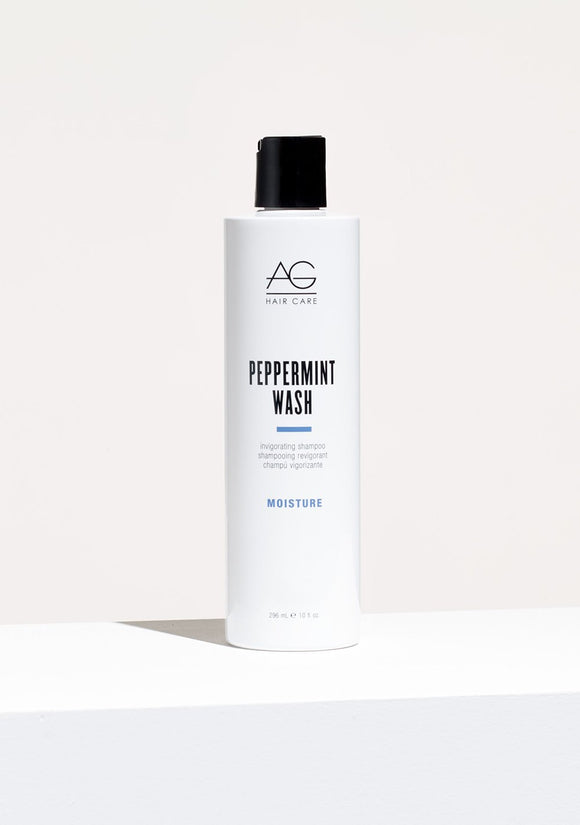 AG HAIR PEPPERMINT WASH INVIGORATING SHAMPOO AND BODY WASH