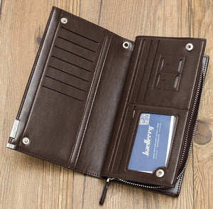 🛒 Alessa™ All-Purpose Baellerry Long Leather Unisex Wallet (SOLO) 🛒
