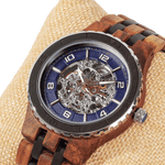Men's Automatic Transparent Body - Ambila Ebony Wood