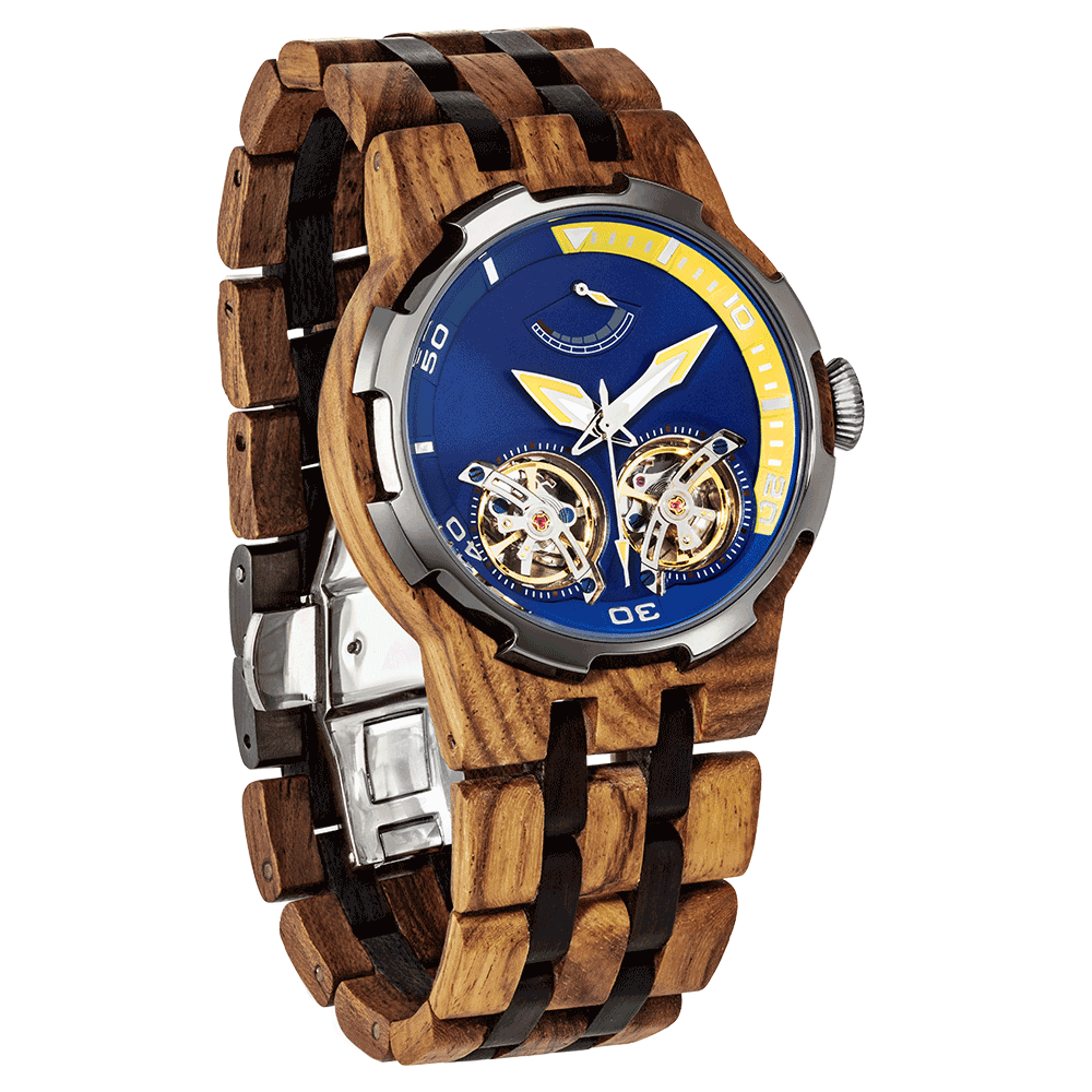 Men's Premium  Automatic - Ambila Wood