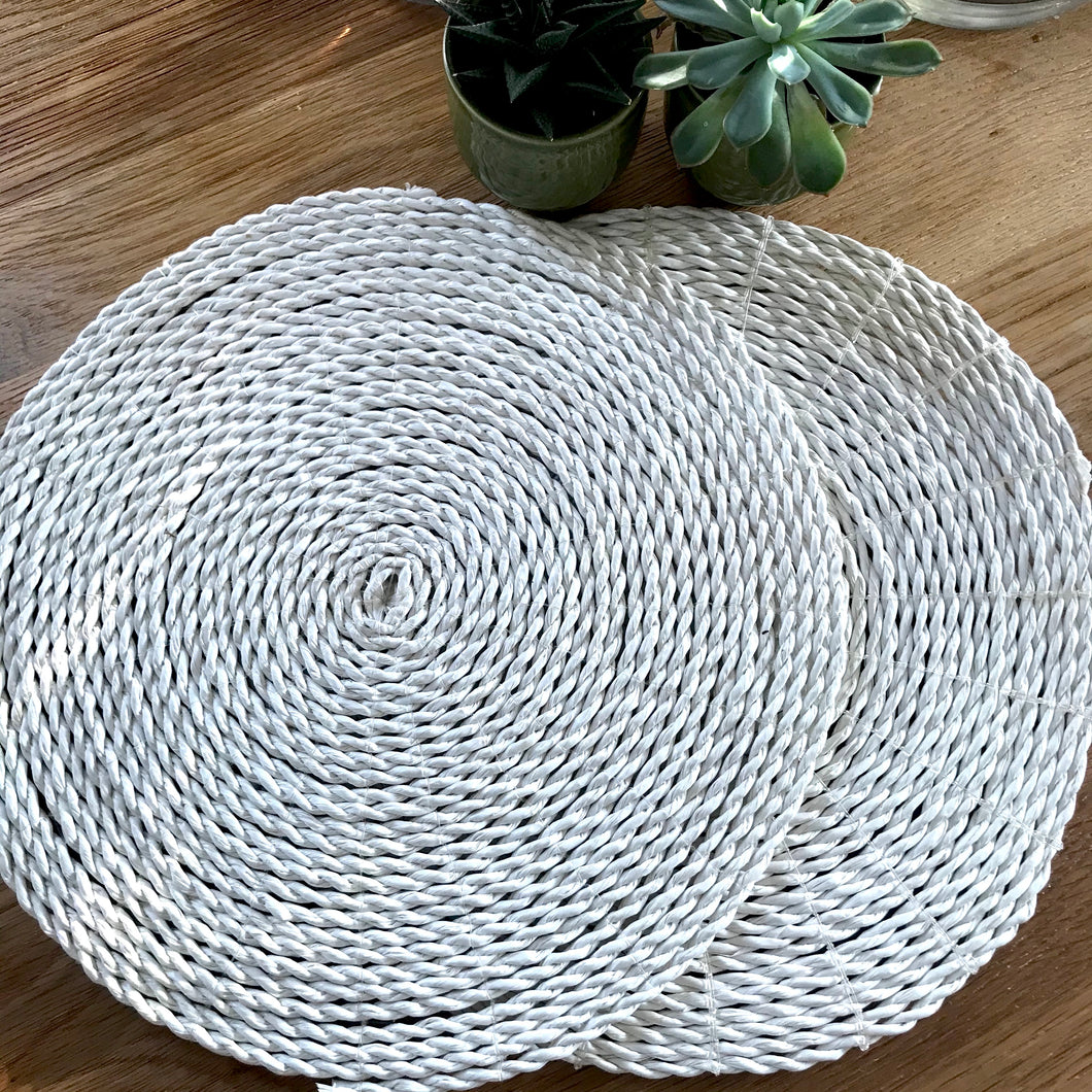 Balinese Rattan Placemats