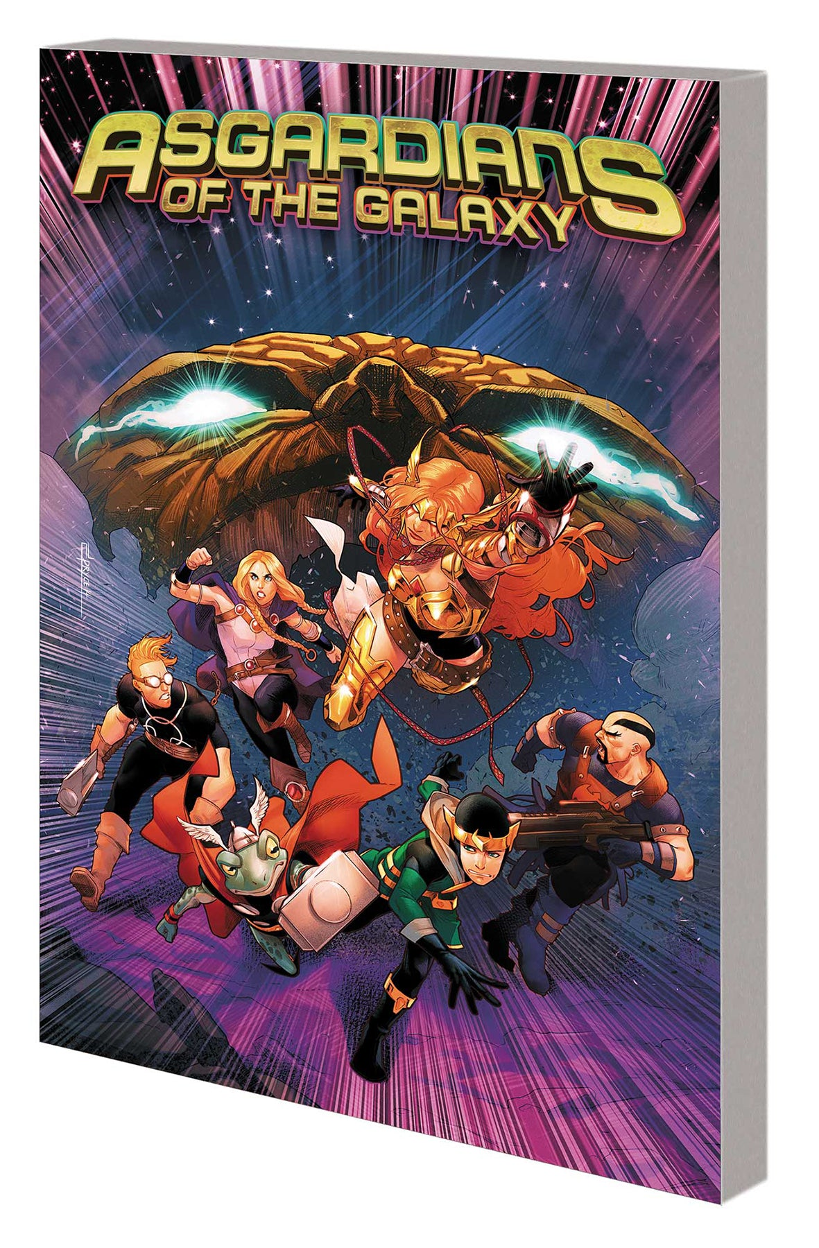 ASGARDIANS OF THE GALAXY TP VOL 02 WAR OF REALMS