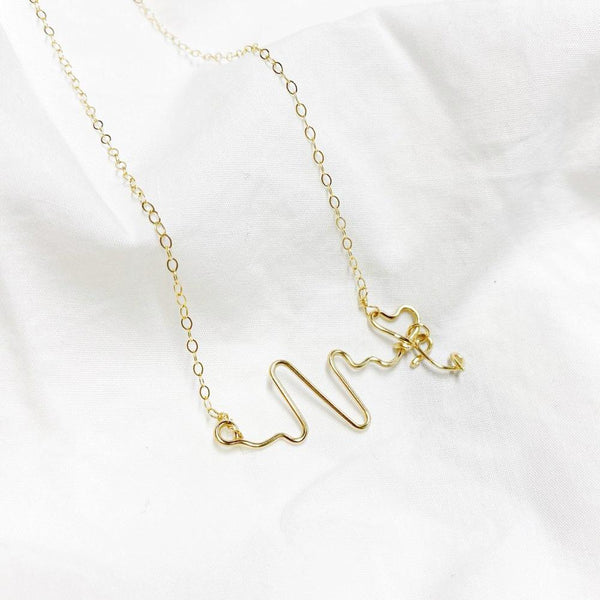 Heart Beats For You Necklace