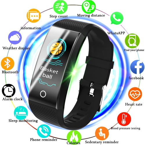 LIGE New Fitness Smart Watch