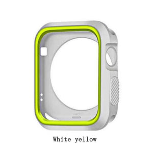 360 Degree Slim Watch Cover for Apple Watch 4 44mm 40mm Case Soft Clear TPU Screen Protector for iWatch 4 Series protective case - Blg-19 The Complete Store for You