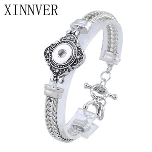 Newest Snap Bracelet Fit 12mm Snap Button Jewelry Watches Women Unisex DIY jewelry Gifts ZE302
