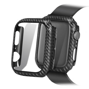 Screen Protective case For Apple Watch 4 5 3 iwatch 44/42mm 40/38mm Frame Carbon Protective Case covers Bumper watch Accessories - Blg-19 The Complete Store for You