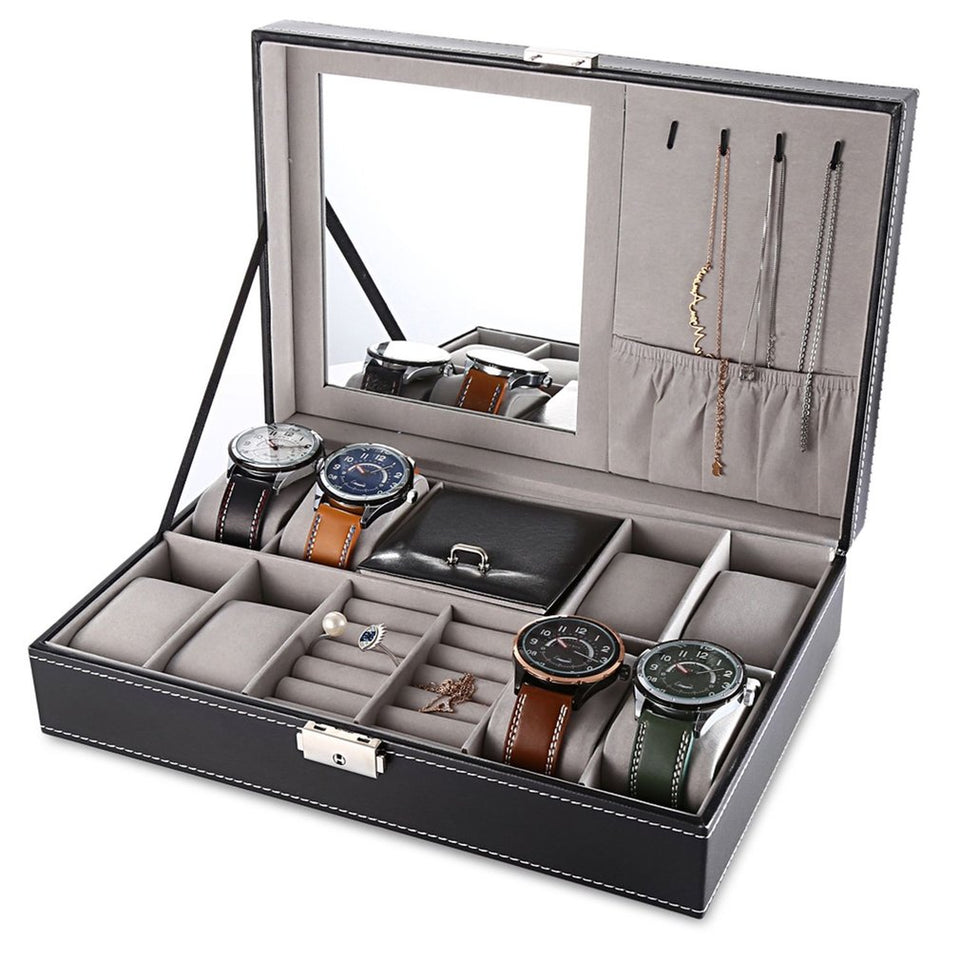 PU Leather Watch Box - Blg-19 The Complete Store for You