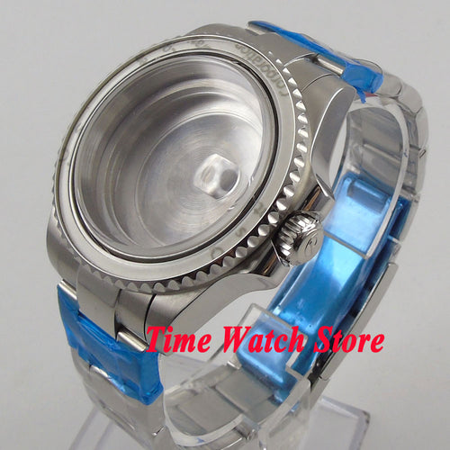 Fit ETA 2836 movement  glass  case