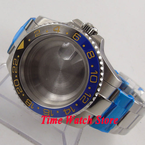 Fit  movement 40mm sapphire glass