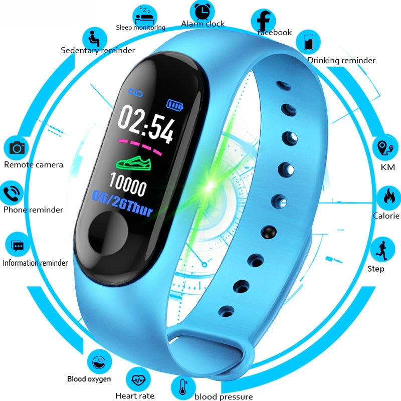 Bracelet Band Fitness Tracker Smart Watch - Blg-19 The Complete Store for You