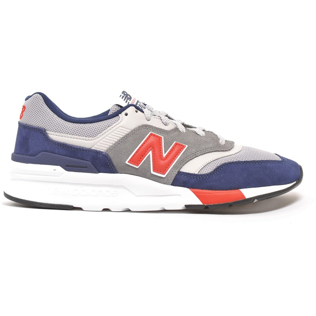 New Balance Mens 997 Red Navy Trainers Trainers Cm997Hvr | Vilbury London