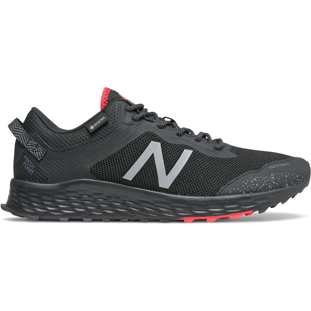 New Balance Mens Arishi Trail Black Trainers Trainers Mtarisgb | Vilbury London