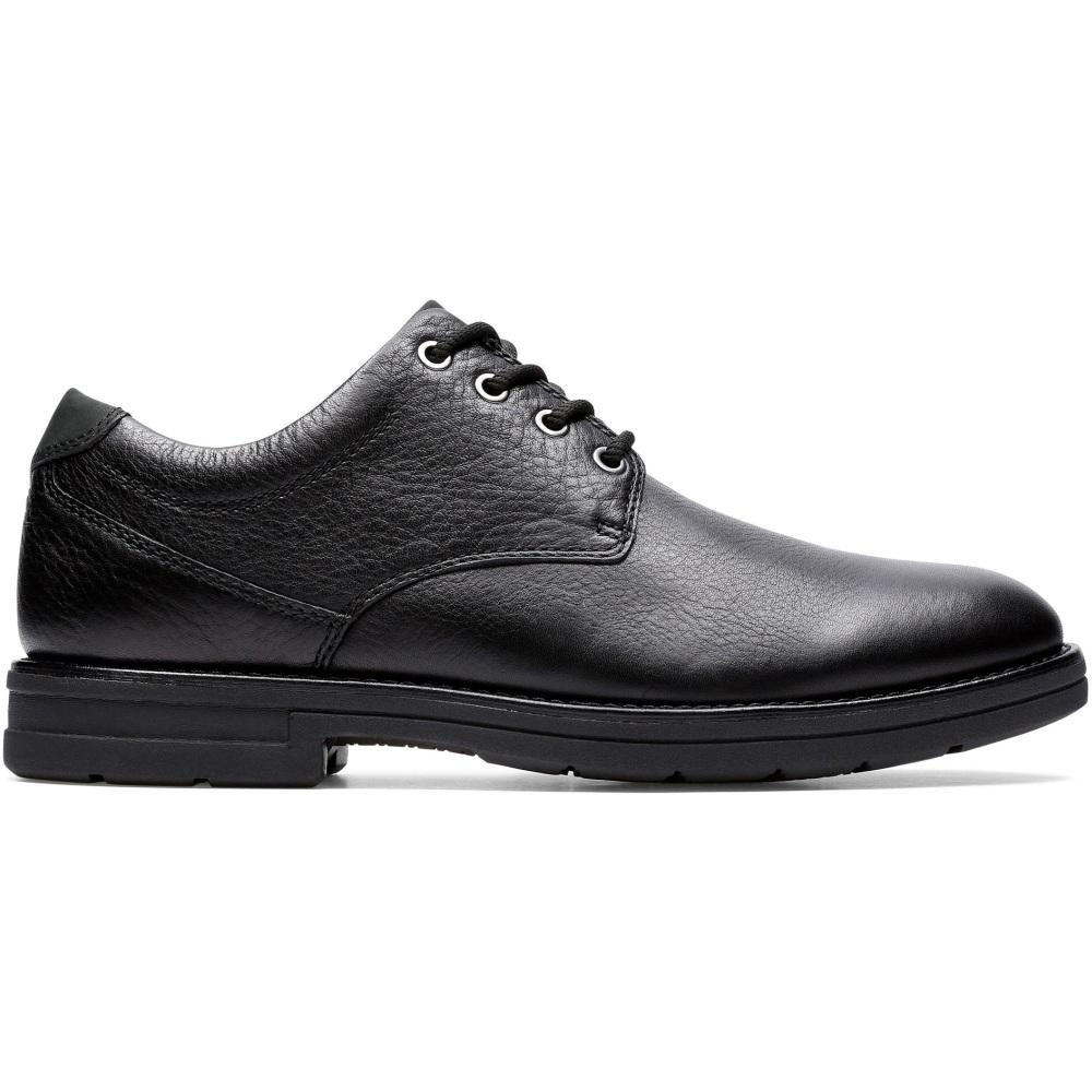 Clarks Male Black Banning Plain 26151753 | Vilbury London
