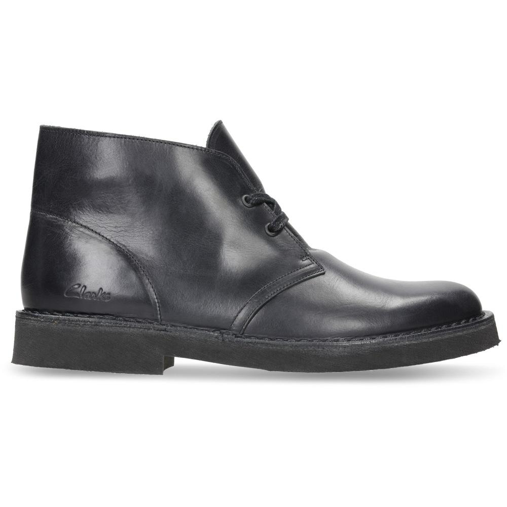Clarks Male Black Desert Boot 2 26155496 | Vilbury London