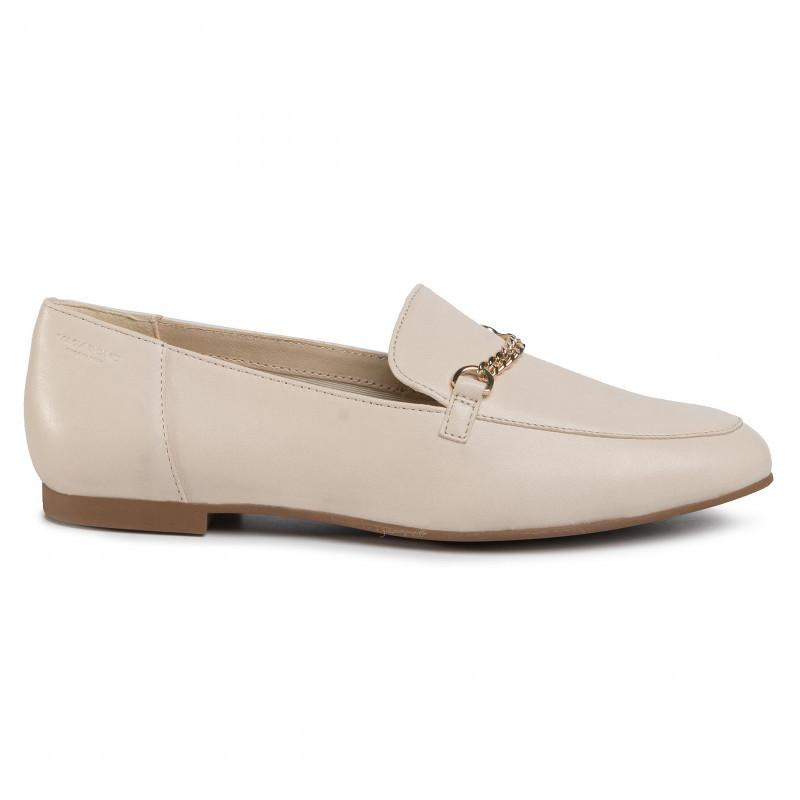 Vagabond Women's Eliza Off White Moccasins 4918-101-02 | Vilbury London