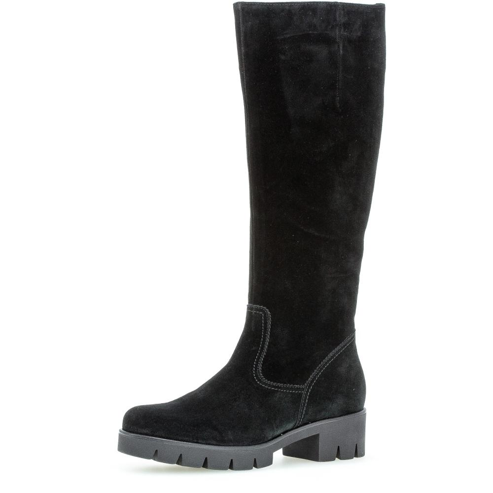 Gabor Female Black Boots Casual Schwarz 51719 17 | Vilbury London